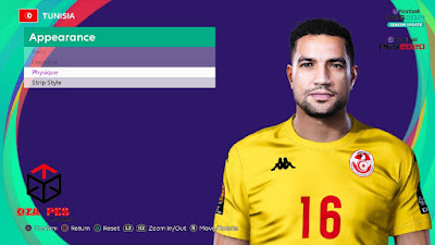 PES 2021 Faces Aymen Mathlouthi by Dzayer PES