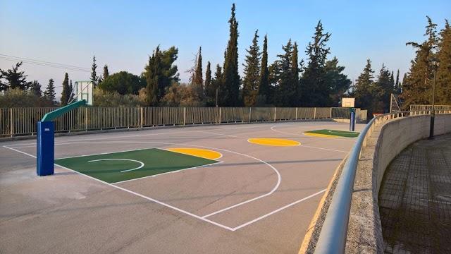 Δήμος Στυλίδας: Ανακαίνιση του γηπέδου μπάσκετ του Δημοτικού Σχολείου Αχινού
