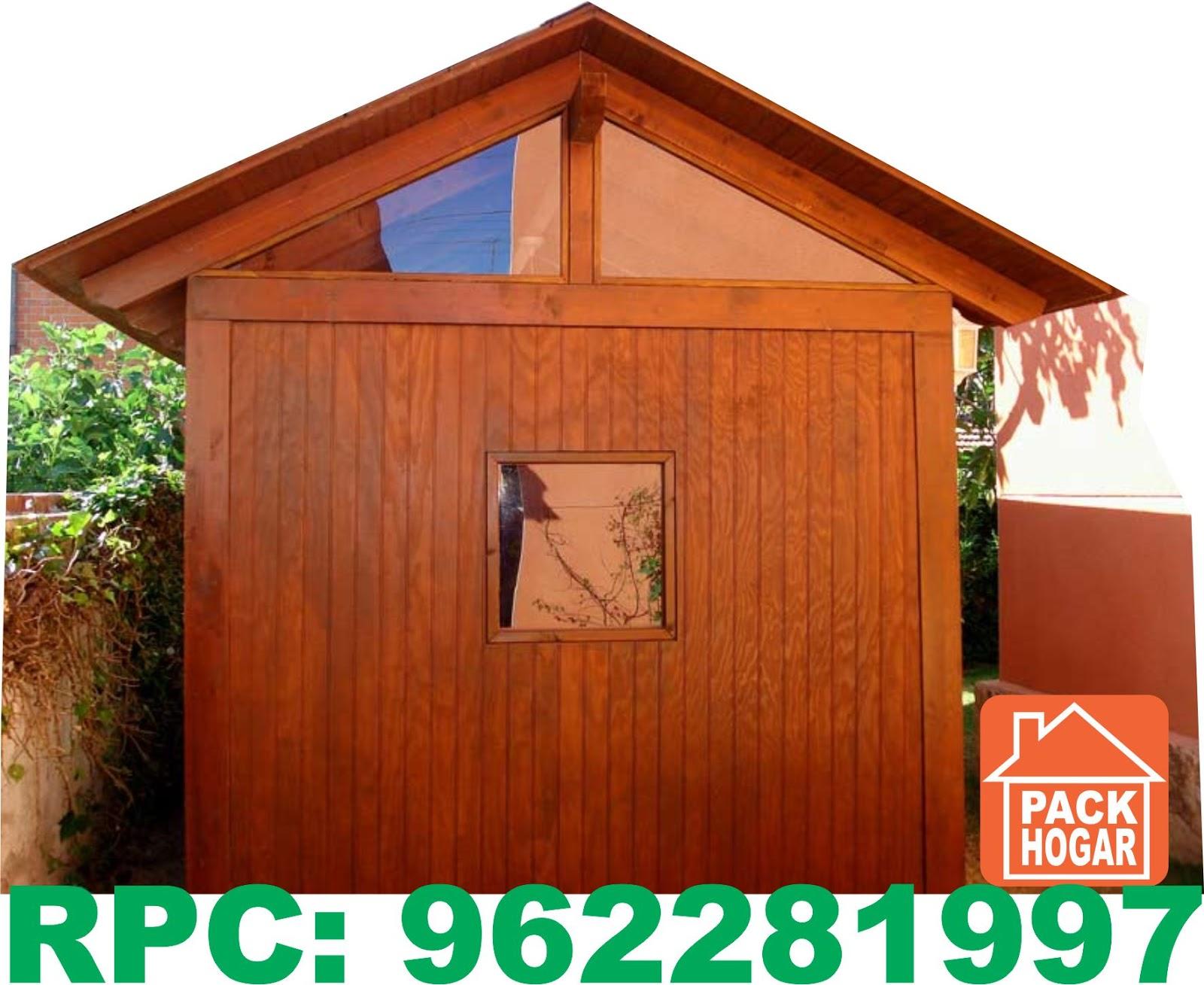 casetas cuartos prefabricadas para azoteas packhogar