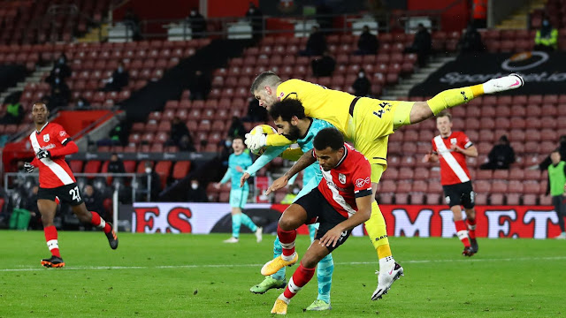 Fraiser Forster was impressive as Southampton beat Liverpool 1-0