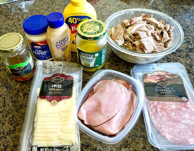 The Cuban Sandwich ingredients