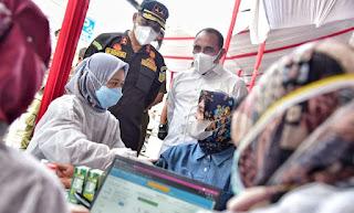 Gubernur Edy Rahmayadi Apresiasi Vaksinasi Massal di Kejati Sumut