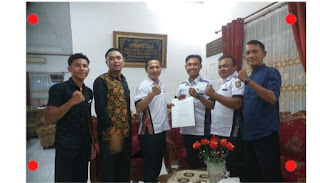 Ketua PORTINA Kabupaten Asahan Lakukan Penerimaan SK yang diberikan Langsung Oleh Ketua Umum Portina Sumatra Utara