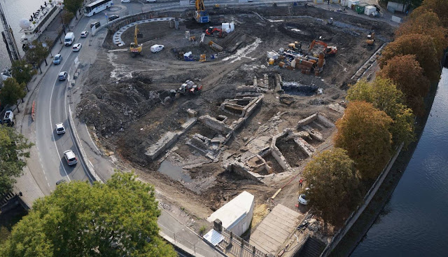 Belgium's Grognon citadel and Medieval port resurfacing