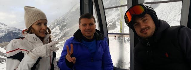 Горнолыжный инструктор Зёльден Санкт Антон Лех