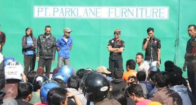 Fsps Cirebon Geruduk Pt Parklane Furniture Federasi