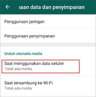Cara Menghemat Kuota Pada WhatsApp 2