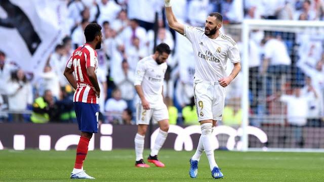 موعد مباراة ريال مدريد أمام اتلتيكو مدريد في ديربي مدريد والقناة الناقلة