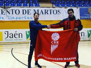 El villanovero Carlos Cardeñas entrenará al CB Martos en Liga EBA
