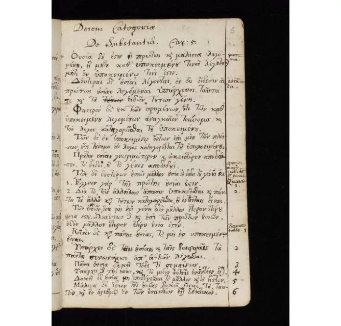 Part Of Isaac Newton's Manuscripts Were Written in Greek Demonstrating A Deep Understanding Of The Language