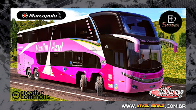 PARADISO G7 1800 DD 8X2 - VIAÇÃO MARLIM AZUL OUTUBRO ROSA