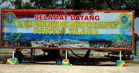 Jelajah Nusantara : Pantai klara pesawaran dengan sejuta keunikannya