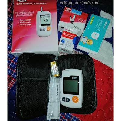 gdm, kencing manis ketika mengandung, bsp, minum air gula, kencing manis, blood glucose monitor set