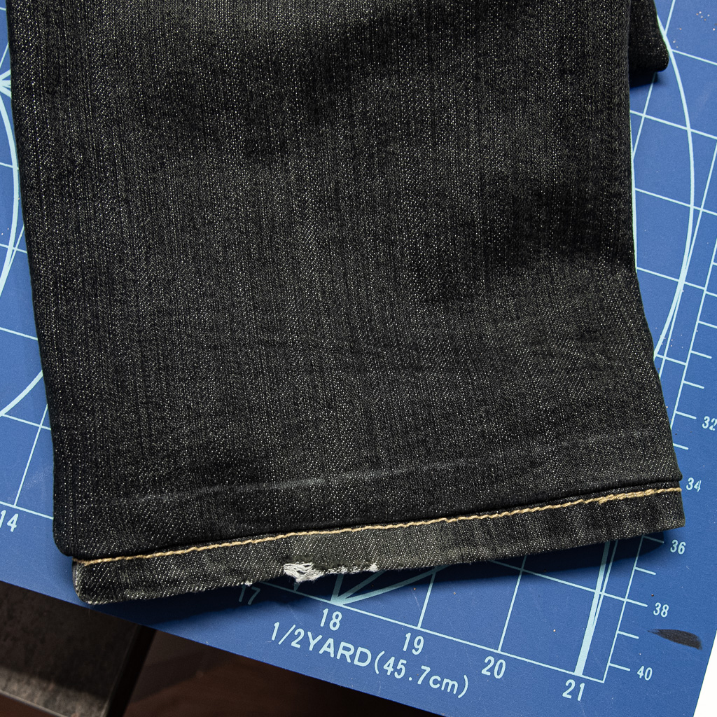 minn's things faulty fashion how to shorten jeans pants tutorial saving original hem step 7 turning ironing