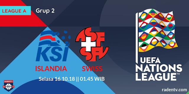 Streaming Islandia vs Swiss