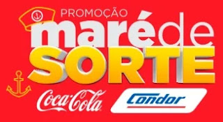 Promoção Maré de Sorte Condor e Coca-Cola Concorra Lancha