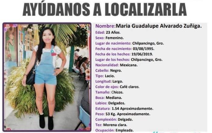 María Guadalupe fue levantada, torturada y ejecutada; estuvo ocho días en la morgue sin ser identificada, la desfiguraron