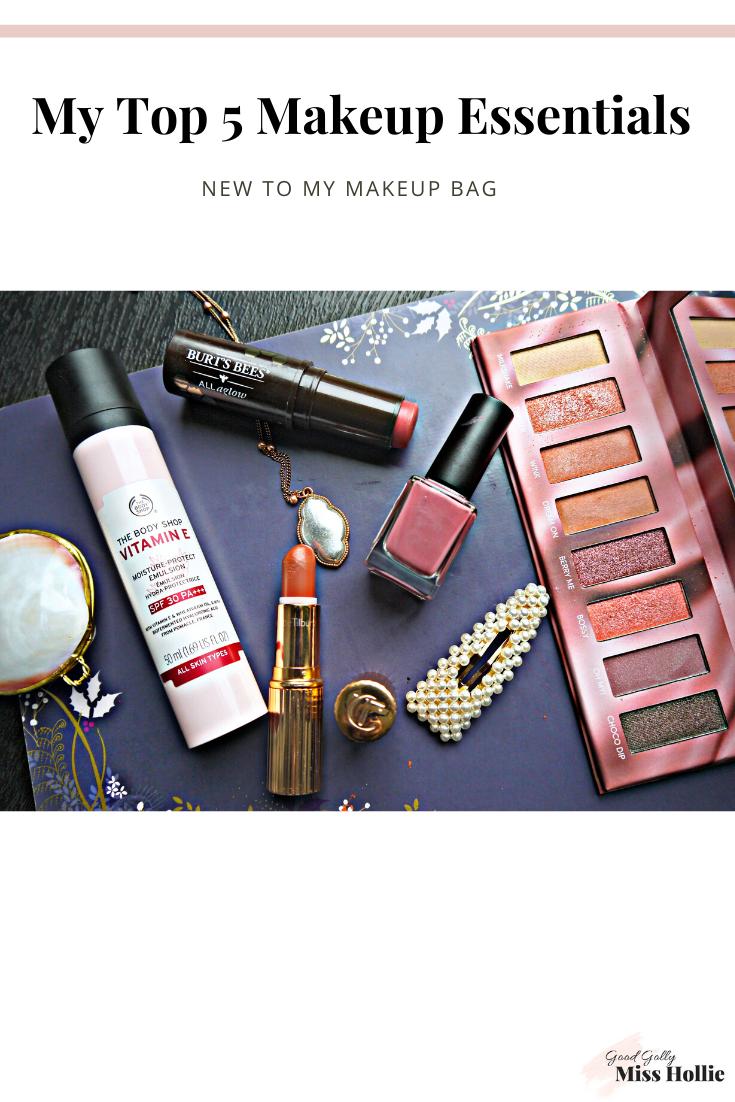 My Top 5 Makeup Essentials // New To My Makeup Bag