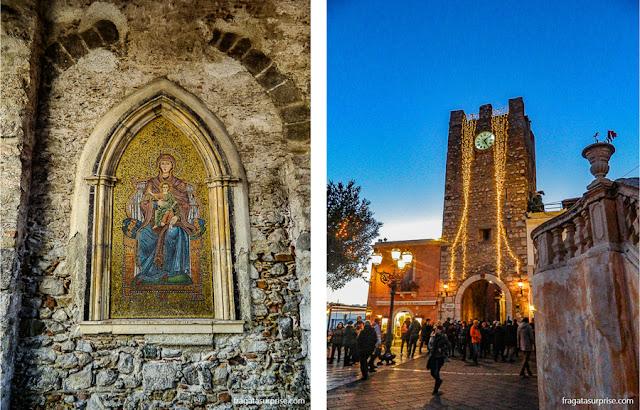 Torre do Relógio de Taormina, Sicília