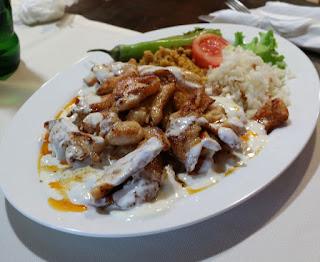 A's chicken iskander kebab