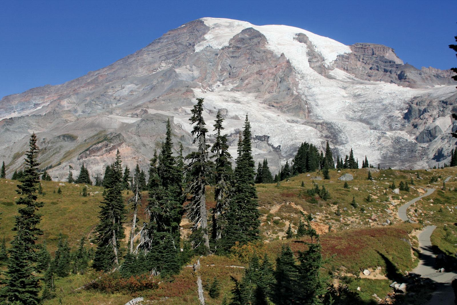Гора Маунт-Ренье, Вашингтон