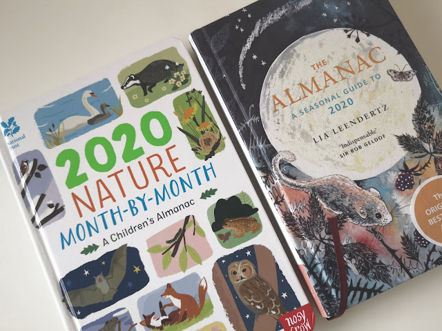 A picture of a children's nature almanac