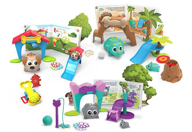 Игрушки для программирования для детей Coding Critters