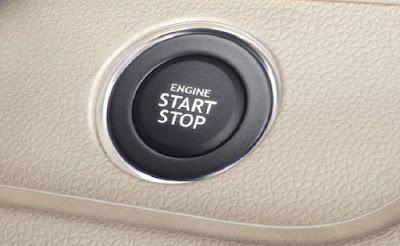 New 2017 Maruti Suzuki Dzire start stop button