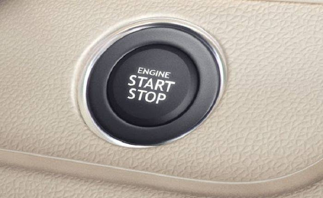 New 2017 Maruti Suzuki Dzire start stop button