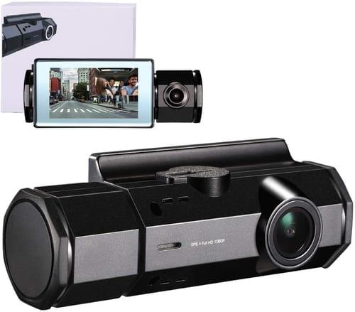 Review GSSUSA 1080P FHD Dual Dash Cam for Cars
