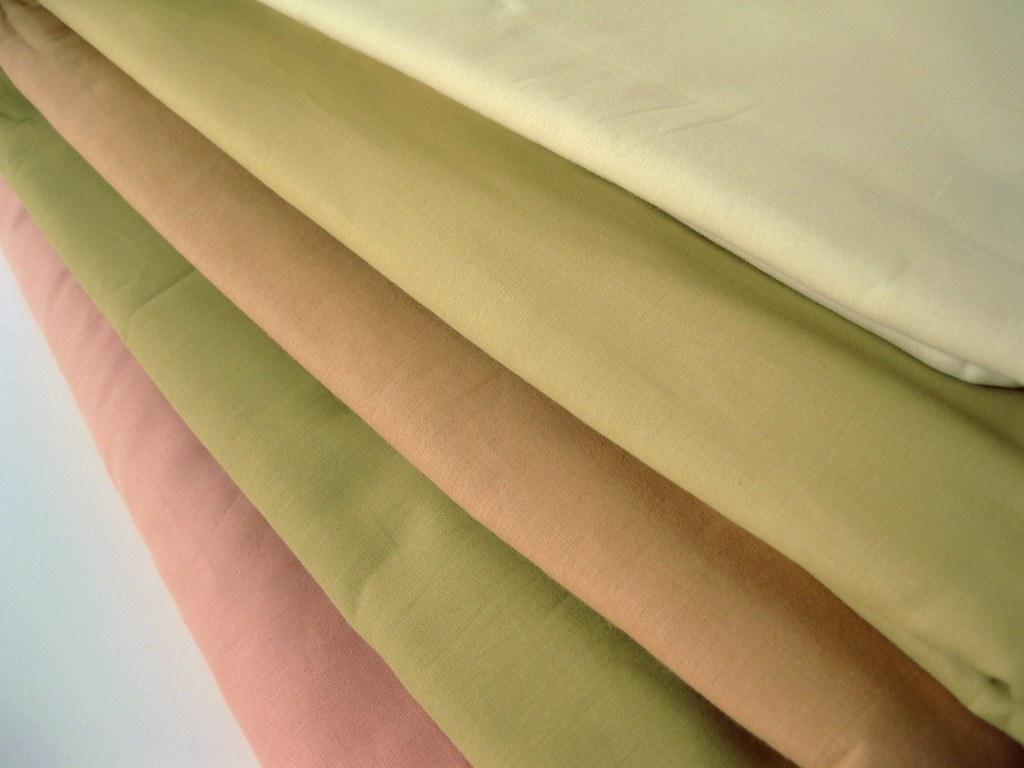 neutral tone eco friendly cotton fabric