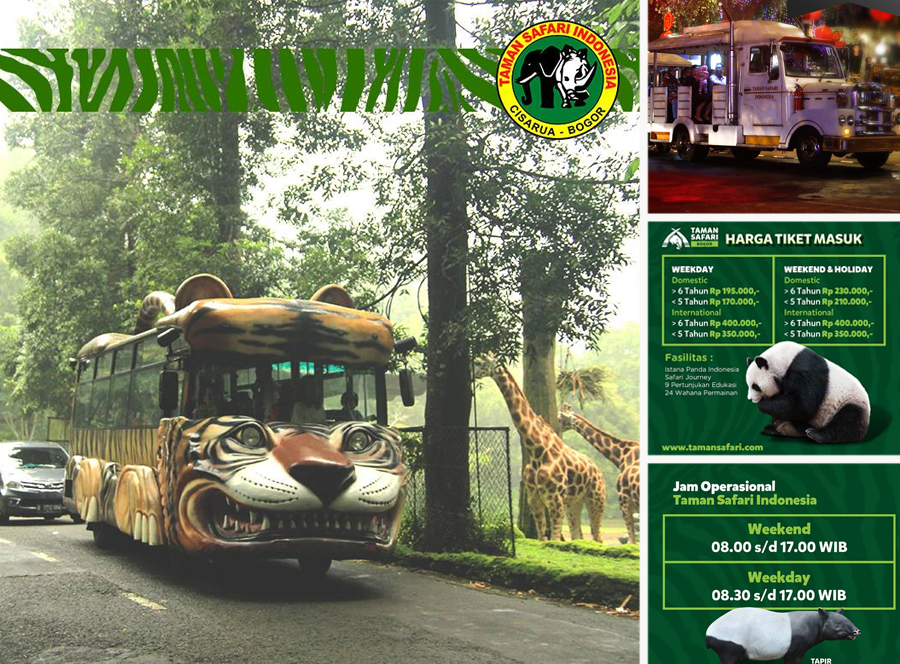Harga Tiket Masuk Terbaru Taman Safari Cisarua Wisatajabar Com