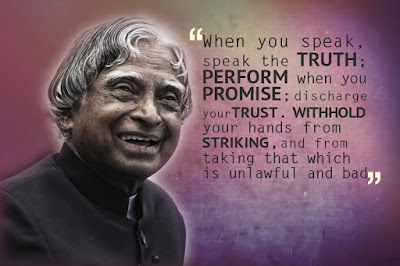 Abdul Kalam inspirational sayings