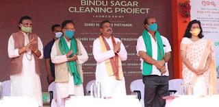 Bindu Sagar Lake Cleaning Project