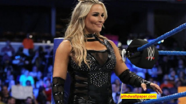Natalya were forced to cover up during their historic women's match