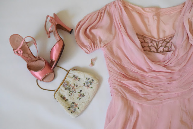the French Clutch is Perfect with this dress!