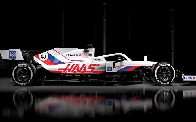 Haas F1, svelata la VF-21
