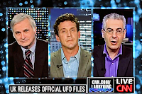 James Fox, Nick Pope and Seth Shostak On Larry King 8-20-2009