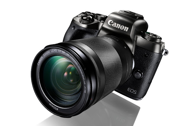 The Canon EOS M5 Mirrorless - Released in September 2016