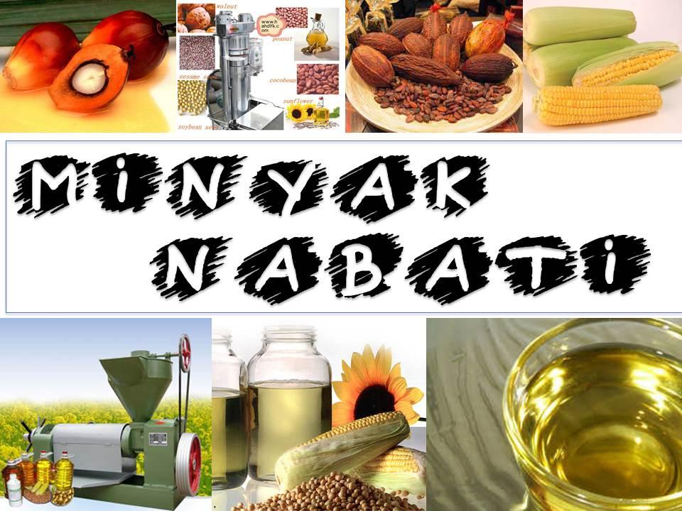Pengolahan Minyak dan Lemak Nabati  Dynamic Expansion