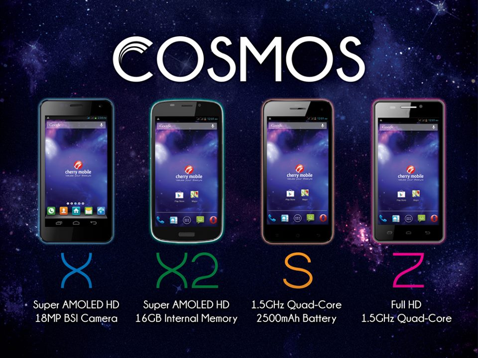 8077f50cf3d The Cherry Mobile Cosmos X is powered by 1.2GHz quad core MT6589 processor.  It also features 4.7 inch Super AMOLED HD display