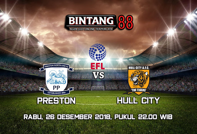 Prediksi Preston North End Vs Hull City 26 Desember 2018