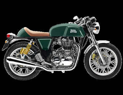 Royal Enfield Continental GT green side look