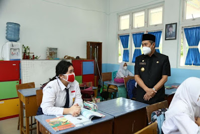 Gubri Harap Kabupaten.Kota Dapat Contoh Belajar Tatap Muka Terbatas di Pekanbaru