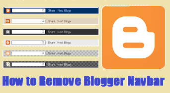 How To Remove Blogger Default Navbar
