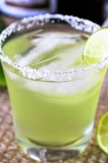 Top Shelf Margarita with Salted Rim Image