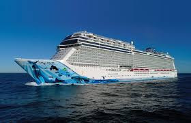 Norwegian Cruise Line's Norwegian Bliss Leaves Her New York Anchorage for Layup in Norfolk, Va. Norwegian Cruise Line, Where is the Norwegian Bliss