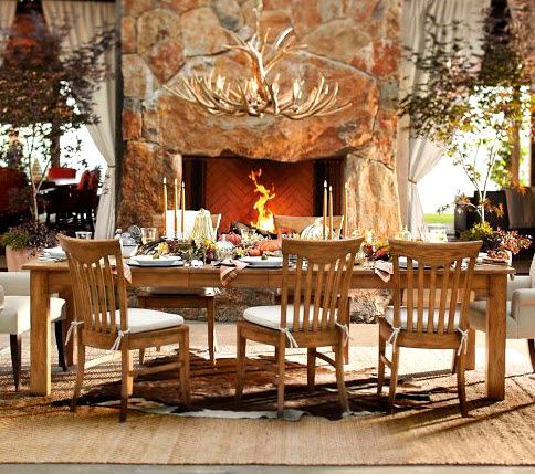I Can Just Imagine How Great The Pottery Barn Faux Antler Chandelier Would Look In Rustic Country Log Cabin