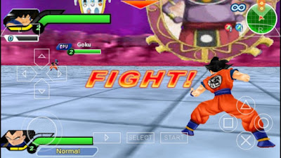 Download Dragon Ball Z - Tenkaichi Tag Team PPSSPP