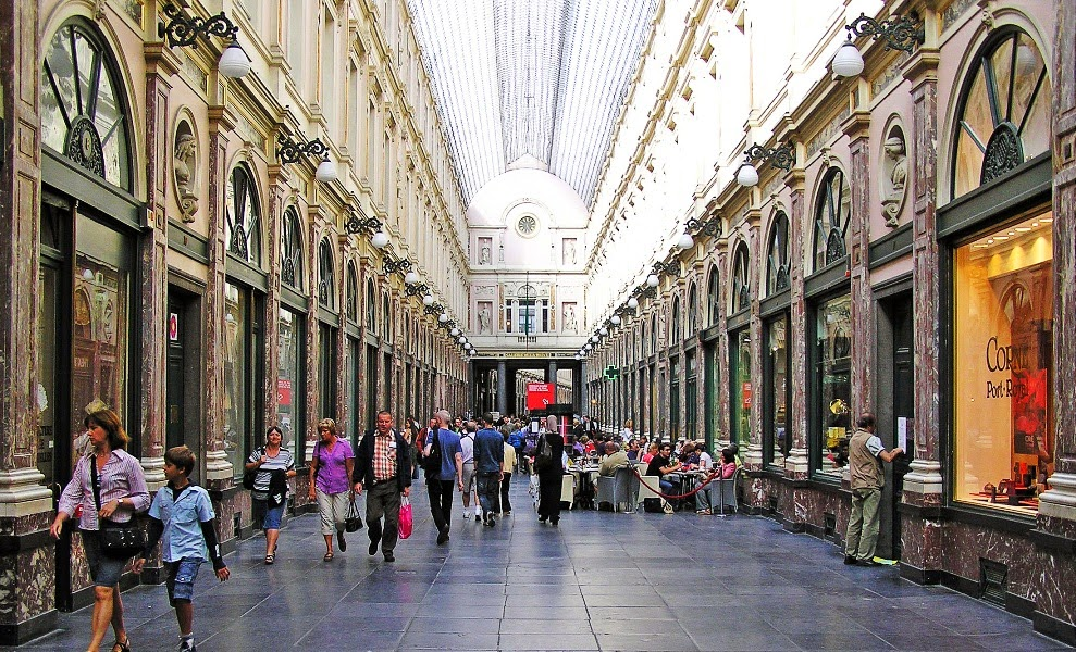 Galeries Royales em Bruxelas